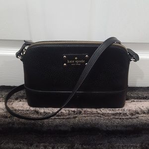Authentic Black Kate Spade Crossbody